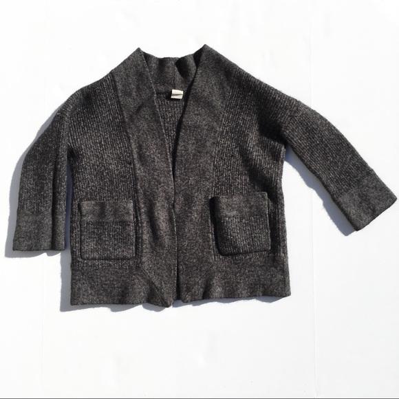 J.Crew alpaca and merino wool 3 4 sleeve cardigan 75a331d2c